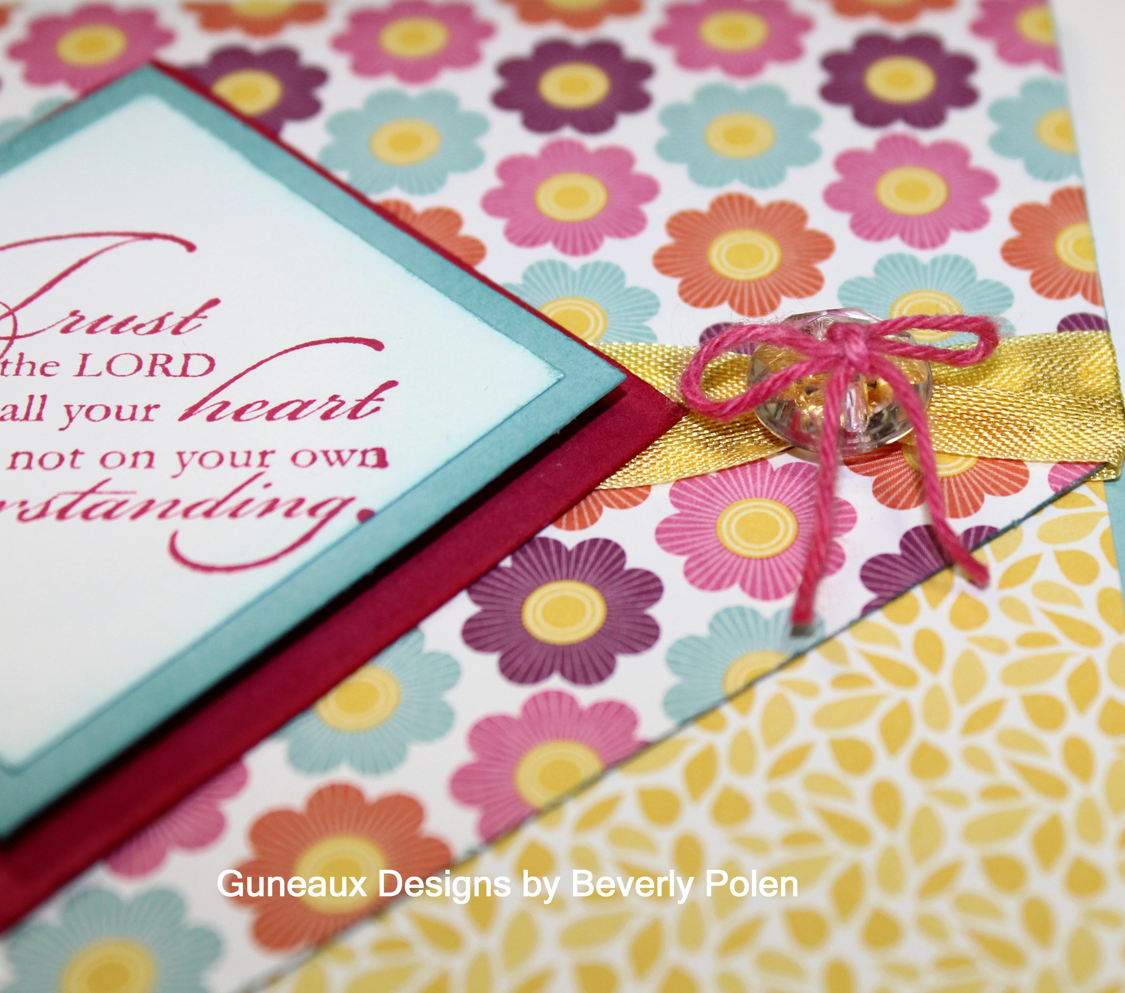 Sympathy Card - Trust God