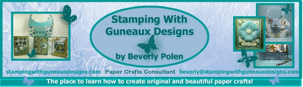 Stamping With Guneaux Designs