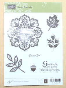Day of Gratitude Stamp Set