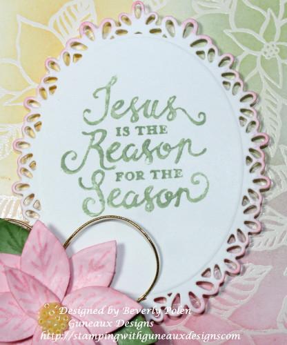 Reason for the Season Pink Poinsettia