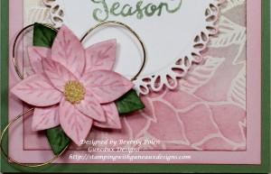 Reason for the Season - Pink Poinsettia