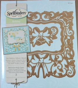 Spellbinders Decorative Holly Frame