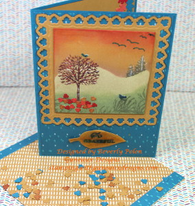 Stampin Up Happy Scenes-Bohemain DSP