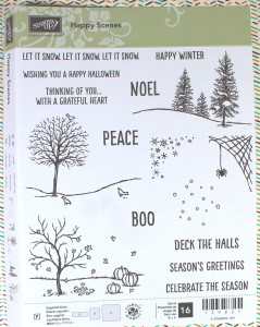Stampin Up Happy Scenes Stamp Set