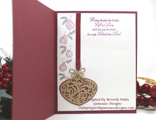 ODBD Delightful Decorations Dies Christmas Card