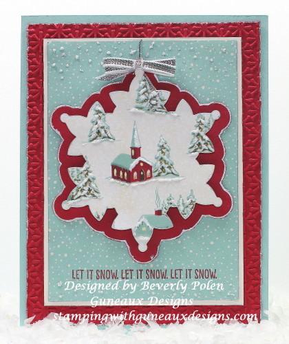SU Happy Scenes Stamp Set, Let it Snow, Let it Snow, Let it Snow