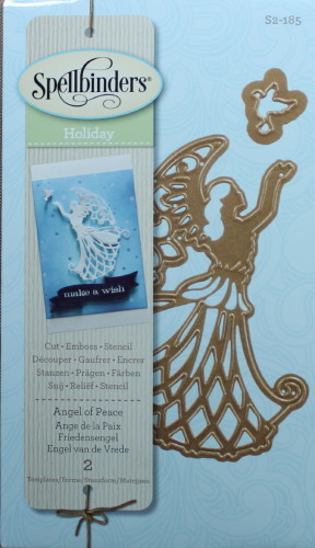 Spellbinders Holiday Angel of Peace_1