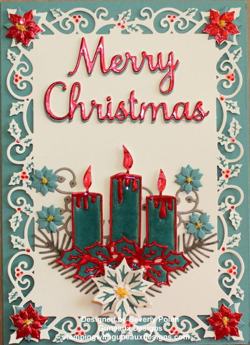 ODBD Christmas Candles Christmas Card