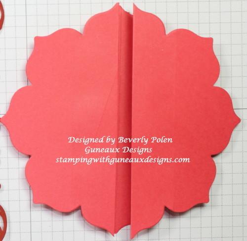 Gate Fold Card Using A Framelit Tutorial