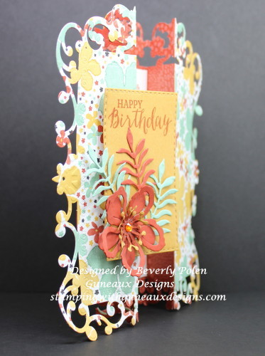 Gate Fold Card Using An Intricate Die Tutorial