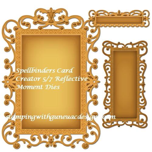 Spellbinders Card Creator 5x7 Reflective Moment Dies_1
