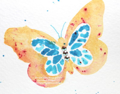 Water Coloring Technique SU Bold Butterfly Framelits3_1