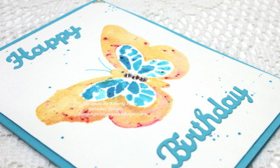 Water Coloring Technique SU Bold Butterfly Framelits4_1