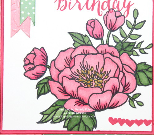 Stampin' Up! Birthday Blooms