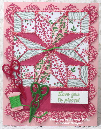 Our Daily Bread Designs Star Quilt Die
