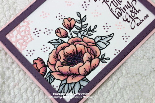 ODBD My Soul Thirsts Stamp Set