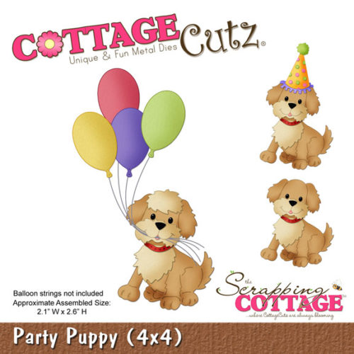 Cottage Cutz Party Puppy