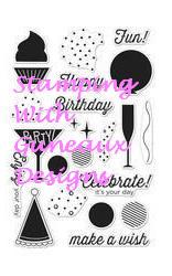 Altenew Peony Bouquet Birthday Card