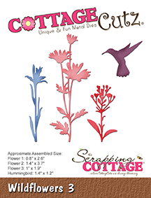 CottageCutz Wildflowers 3