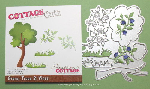 CottageCutz Cross With Vine