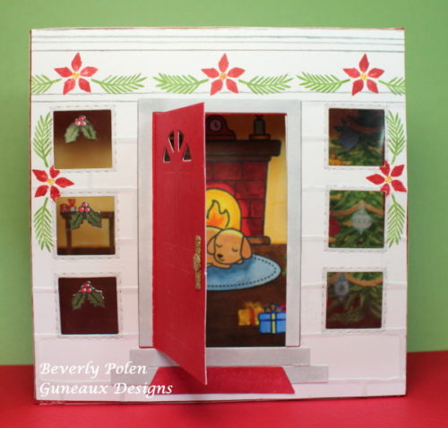 Where Did Shut The Front Door Come From: Lawn Fawn Christmas Dreams & Shut The Front Door
